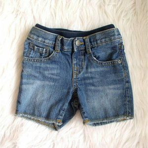 Baby Gap Girl Blue Jeans Cut Off Shorts